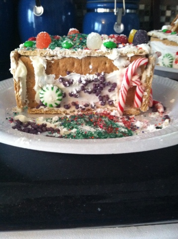 Madi's gingerbread house