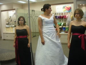 There by my side through my bridezilla phase