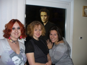Our first midnight screening of Twilight New Moon